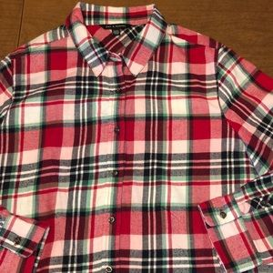 ZAC & RACHEL Flannel Button Down Flannel Shirt XL